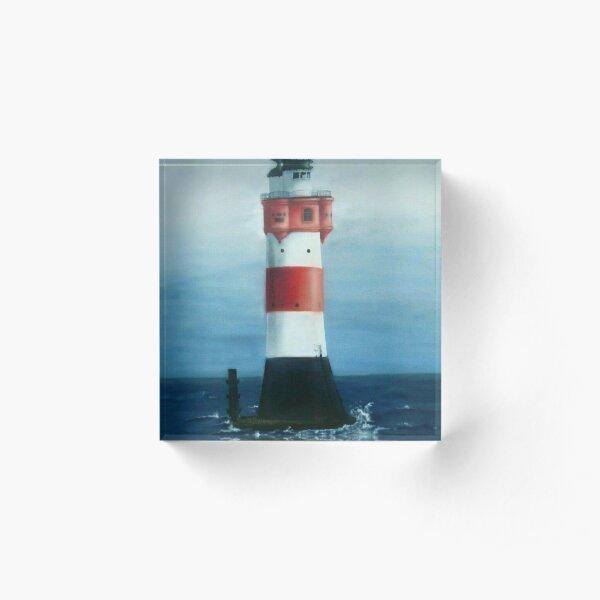 Leuchtturm Acrylblock