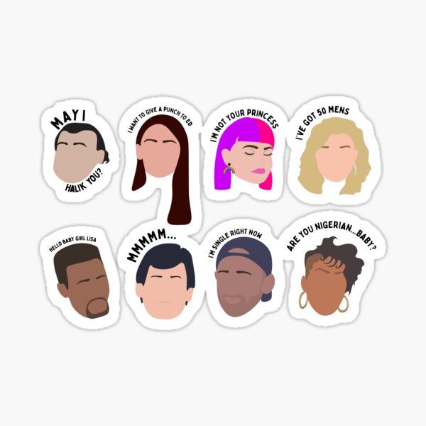 Best Moments of Season 4 Sticker Pack | 90 Day Fiance Before the 90 Days Sticker