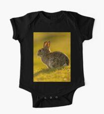 Cute Rabbit Wildlife Golden Hour Kids Clothes