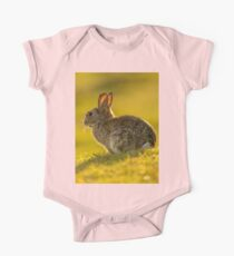 Cute Rabbit Wildlife Golden Hour Kids Clothes
