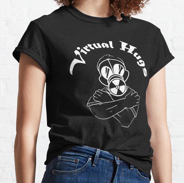 Gas Mask Guy Virtual Hug White Classic T-Shirt