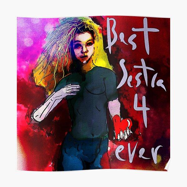 Helena - Best Sestra 4 Ever (Orphan Black) Poster
