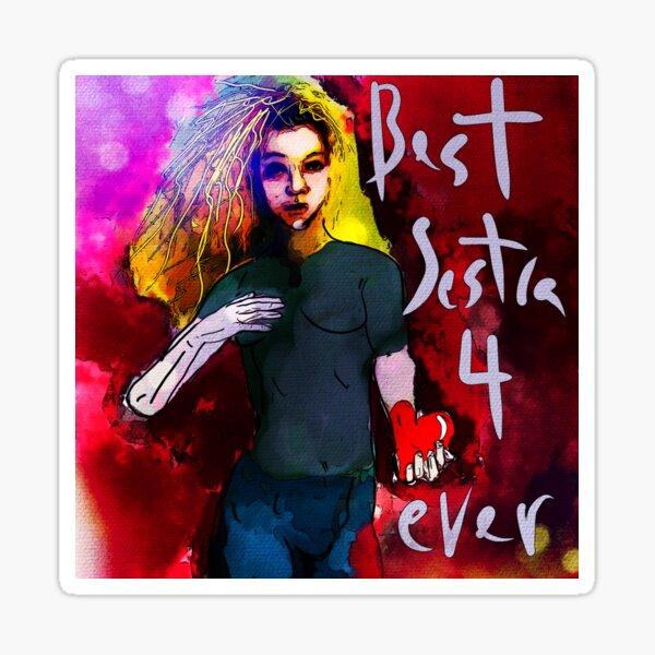 Helena - Best Sestra 4 Ever (Orphan Black) Sticker