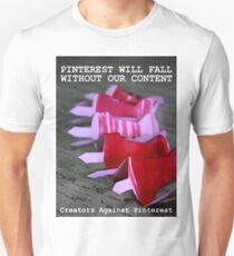 Creators Against Pinterest T-Shirt