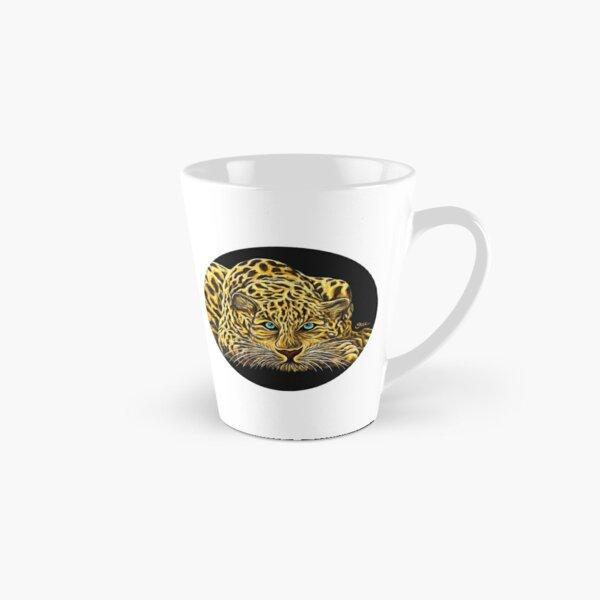 Leopard  - Shee Endangered Retro Animals Tall Mug