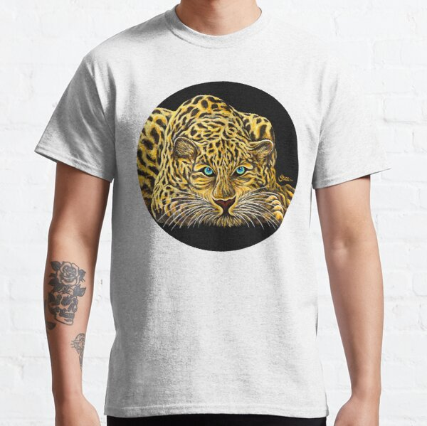 Leopard  - Shee Endangered Retro Animals Classic T-Shirt