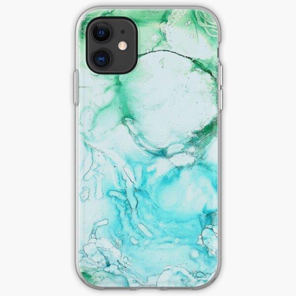 Aqua iPhone Flexible Hülle