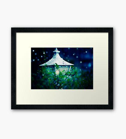 Where The Fairies Live Framed Print