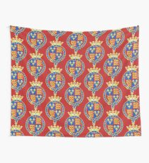 Coat of Arms of the Kingdom of England (1399-1603) Wall Tapestry