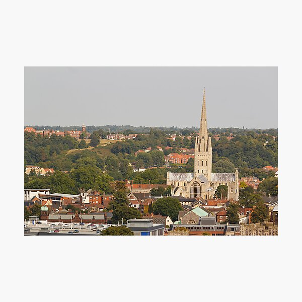 Norwich Anglican Cathedral Photographic Print