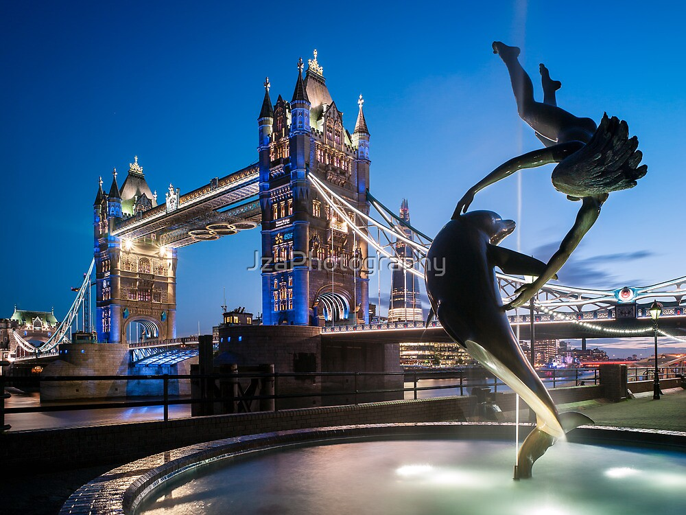 Girl with a Dolphin by JzaPhotography