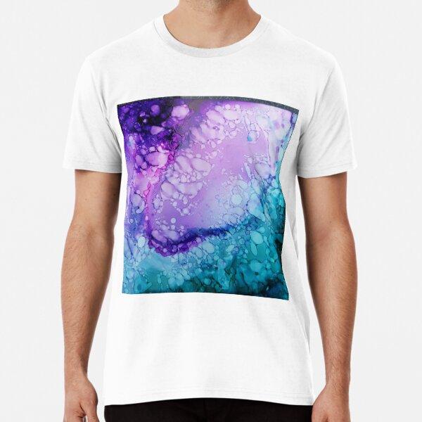 Blaue Lava Premium T-Shirt