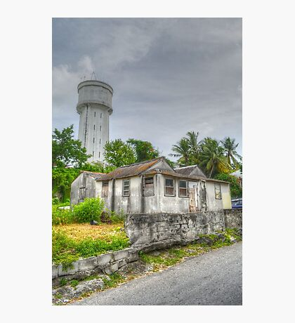 The Water Tower in Nassau, The Bahamas Photographic Print