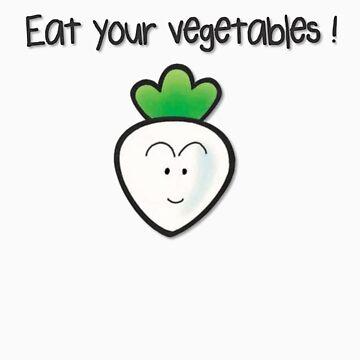 Eat your vegetables ! by Bitlandia
