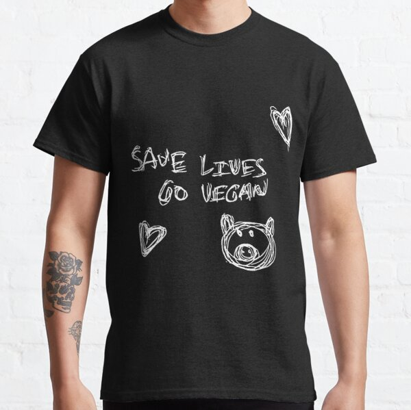 Save Lives and Go Vegan Classic T-Shirt