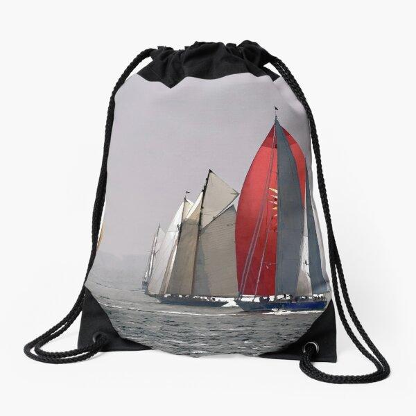 Classic sailing Drawstring Bag