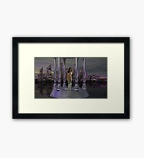 Wanted - Alien Abductress for Seduction Framed Print