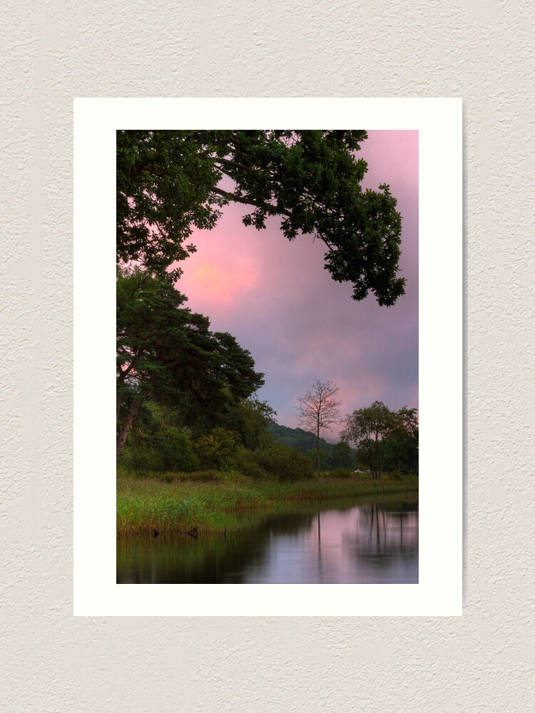 Alternate view of Ard Silhouettes Art Print