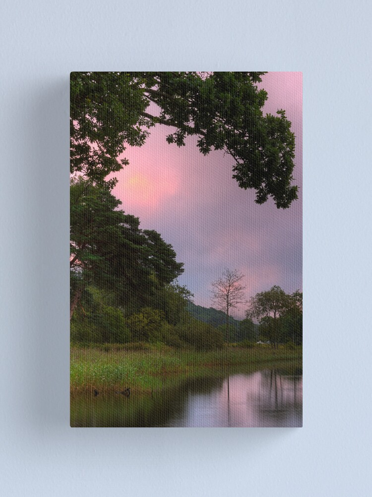 Alternate view of Ard Silhouettes Canvas Print