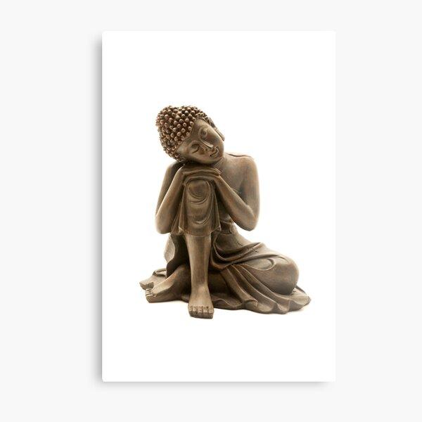 Resting Buddha Metal Print