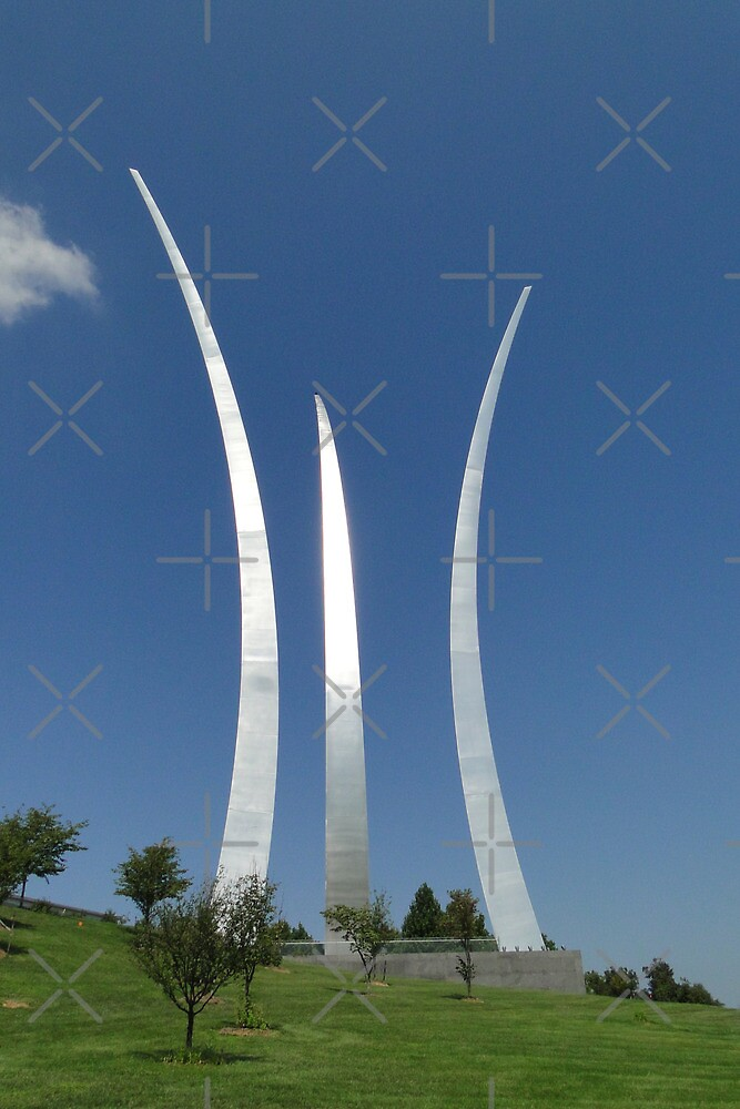 USAF Memorial, Arlington by Barrie Woodward