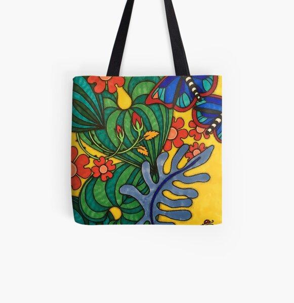Garden of Creativity All Over Print Tote Bag
