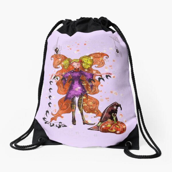 Elektra Luna The Handmade Halloween Fairy Drawstring Bag