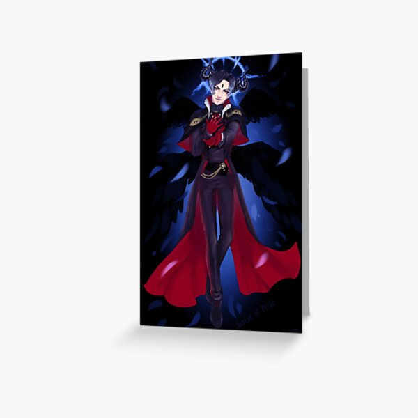 Avatar of Pride - Obey me! Greeting Card