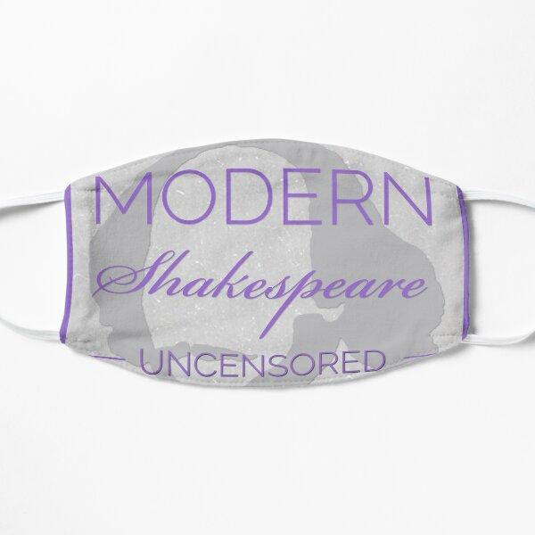 Large Logo Modern Shakespeare Uncensored  Mask