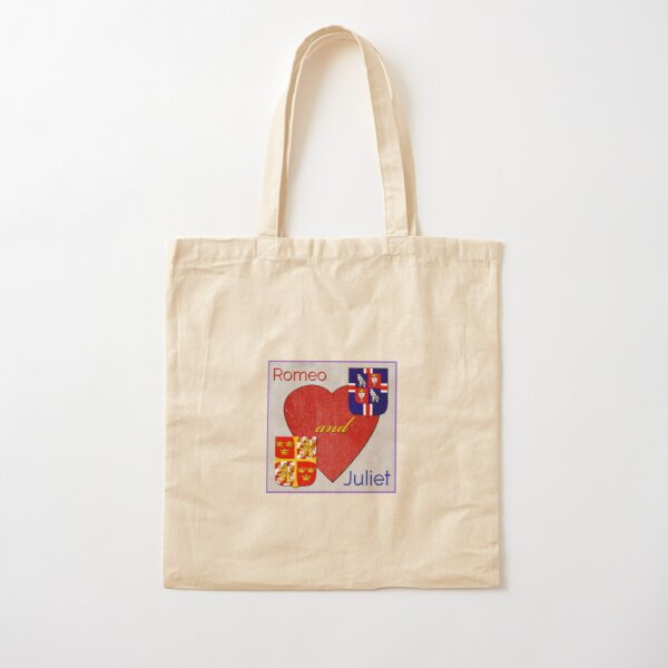 Romeo and Juliet Logo Cotton Tote Bag