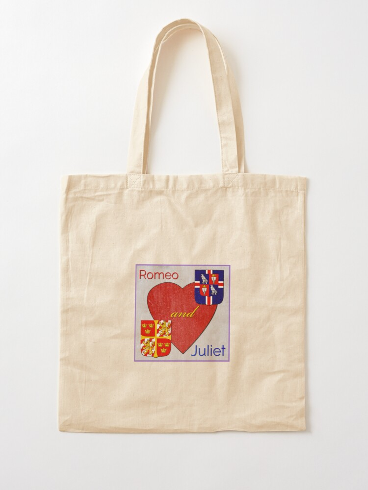 Alternate view of Romeo and Juliet Logo Tote Bag