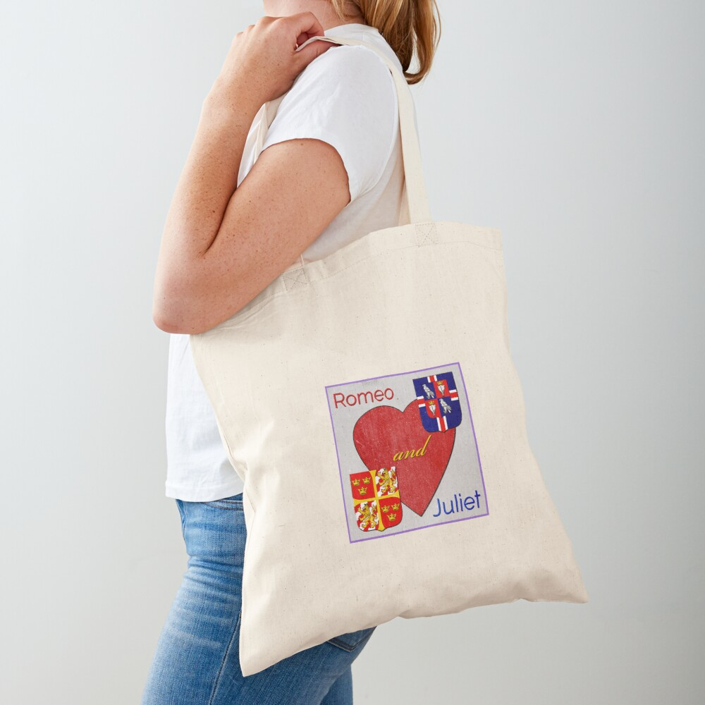 Romeo and Juliet Logo Tote Bag
