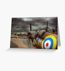 Spitfire Mk 2  Greeting Card