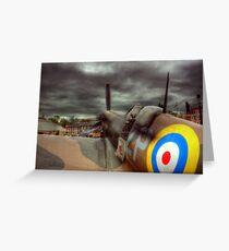 Spitfire Mk 2  Greeting Card