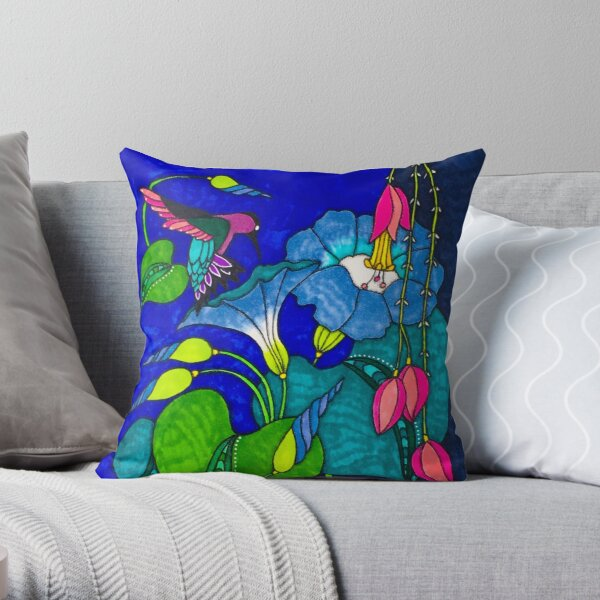 New Glories Every Morning Throw Pillow