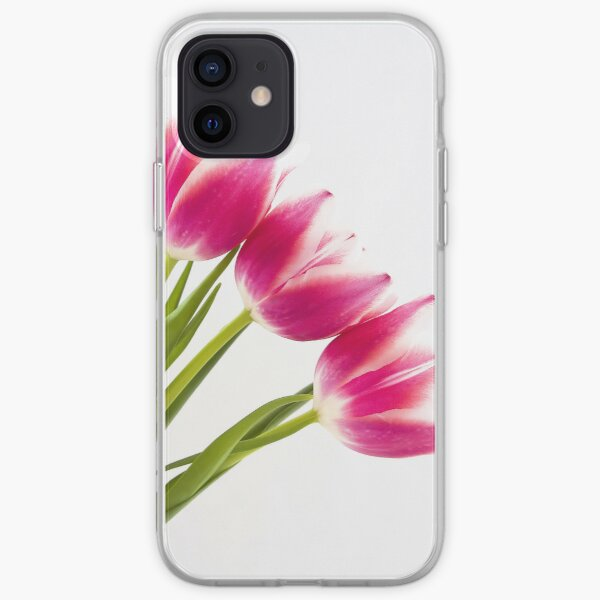 Pink Tulips iPhone Soft Case