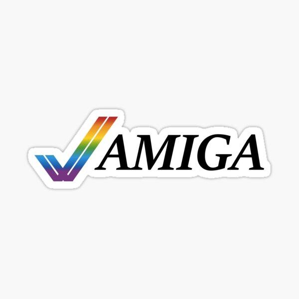 Amiga Illustrated Sticker