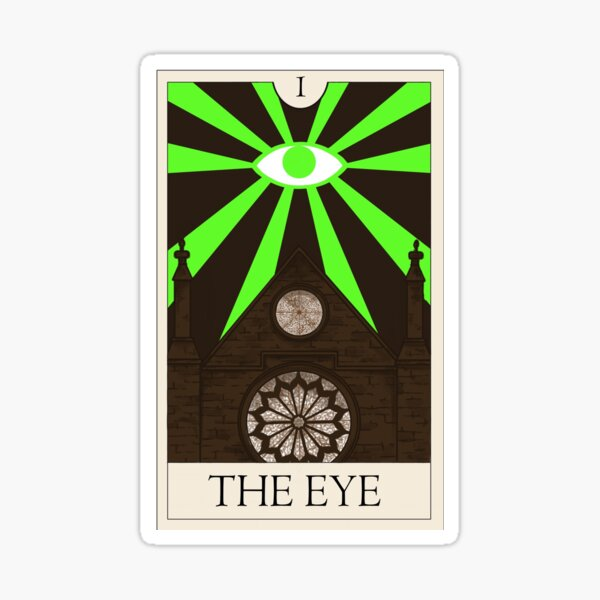 The Eye - The Magnus Archives Tarot Series Sticker