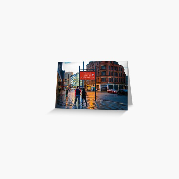 Welcome to Manchester Greeting Card