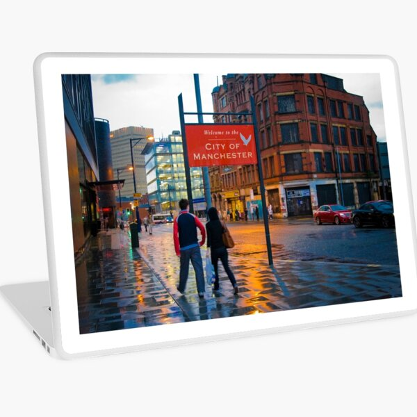 Welcome to Manchester Laptop Skin