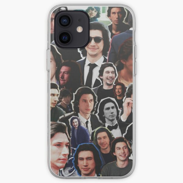 Assorted Adam Driver Collage  iPhone Soft Case