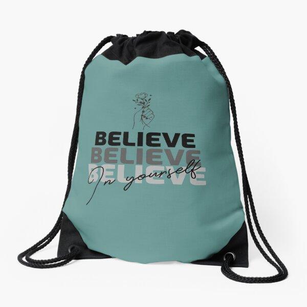 Inspirational Drawstring Bag