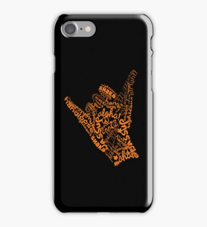 shaka hand sign iphone ipod case iPhone Case/Skin