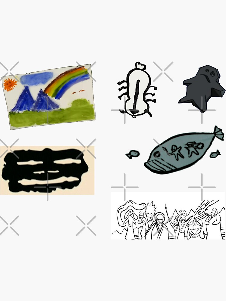 Sokka's Artwork Sticker Pack by haha-LOL