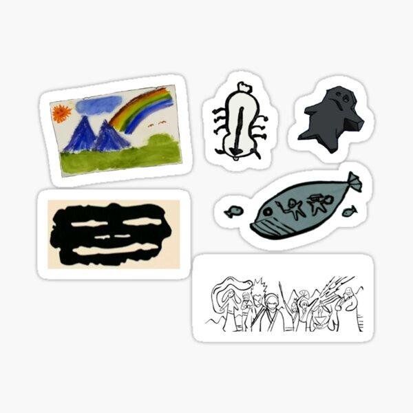 Sokka's Artwork Sticker Pack Sticker