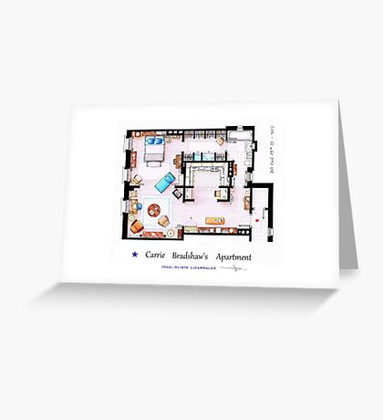 Sex & The City Apartment Greeting Card