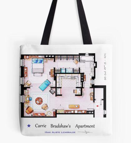Sex & The City Apartment Tote Bag