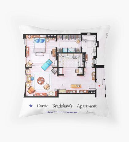 Sex & The City Apartment Throw Pillow