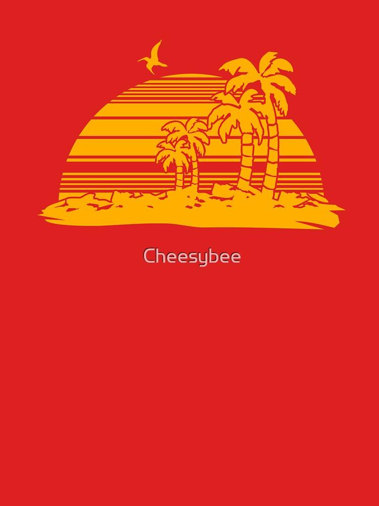 Sonnenuntergang am Strand von Cheesybee