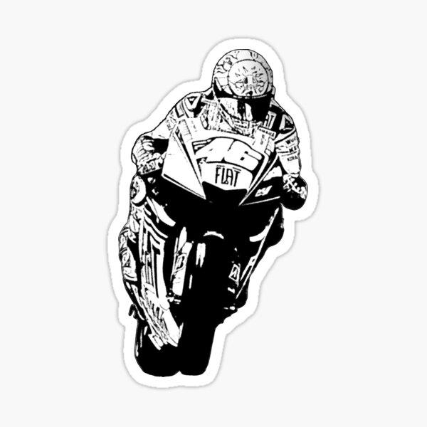Valentino Rossi - cómics Pegatina